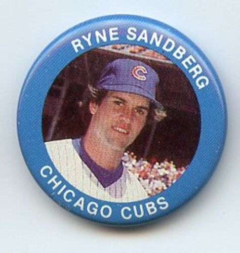 Photo of 1984 Fun Foods Pins #13 Ryne Sandberg