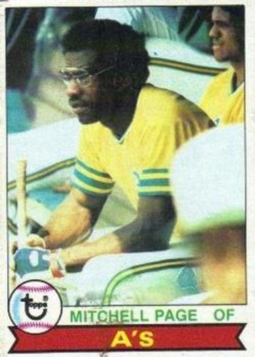 Photo of 1979 Topps #295 Mitchell Page