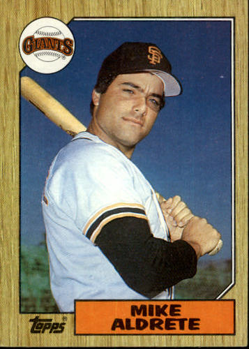 Photo of 1987 Topps #71 Mike Aldrete