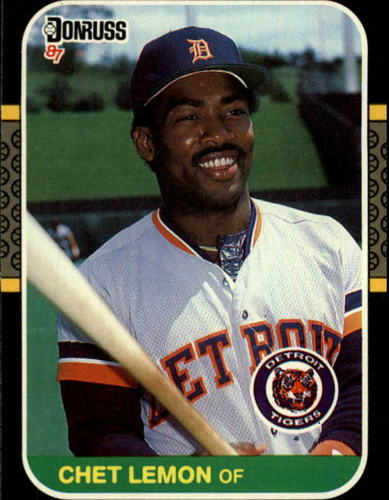 Photo of 1987 Donruss #353 Chet Lemon