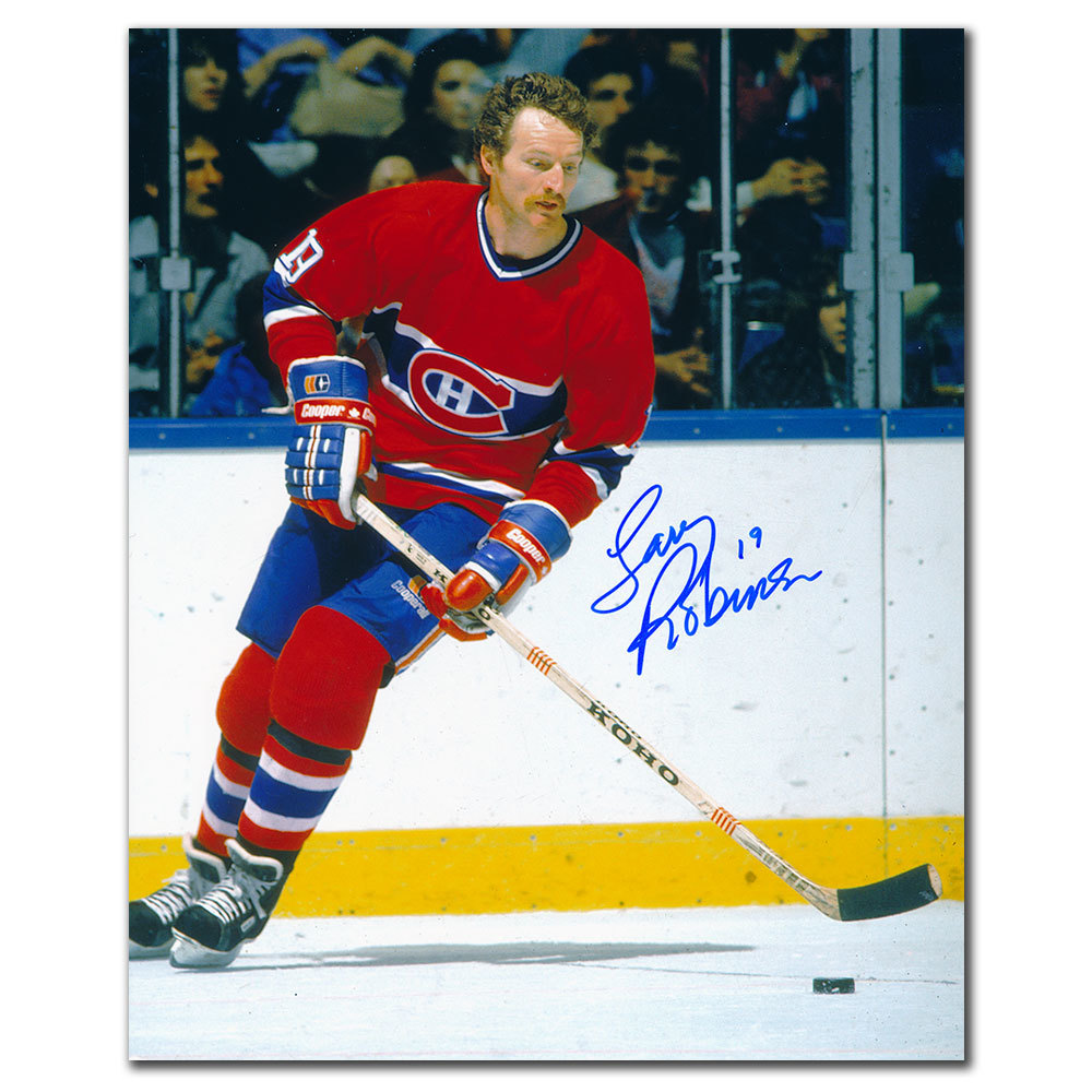 Larry Robinson Montreal Canadiens RUSH Autographed 8x10