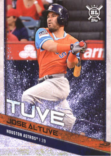 Photo of 2018 Topps Big League Players Weekend Photo Variations #104 Jose Altuve