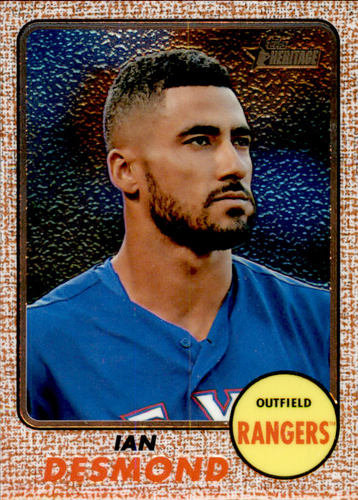 Photo of 2017 Topps Heritage Chrome #THC458 Ian Desmond