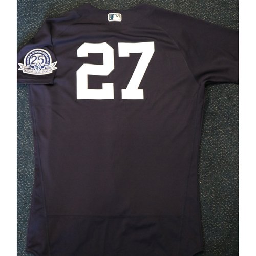 Photo of 2020 Game-Used Spring Training Jersey - Giancarlo Stanton #27 - Size 46