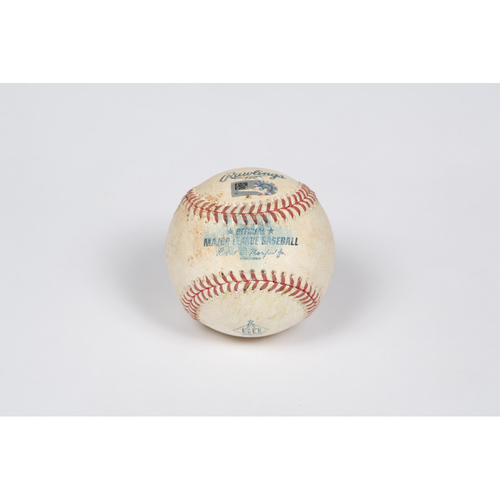 Photo of Game-Used Baseball: Pitcher: Junior Guerra, Batter: Gavin Lux - Single - Top 8 - 5/08/21 - vs. LAD