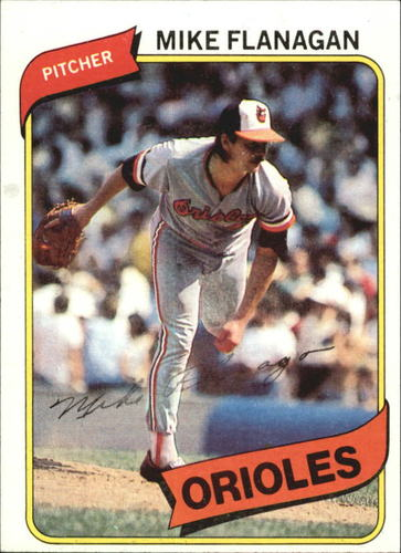 Photo of 1980 Topps #640 Mike Flanagan