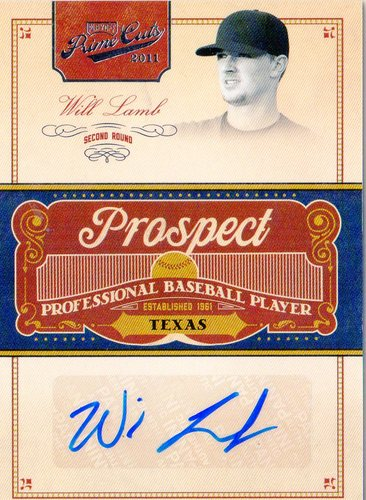 Photo of 2011 Prime Cuts Prospect Signatures #WL Will Lamb
