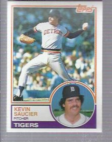 Photo of 1983 Topps #373 Kevin Saucier