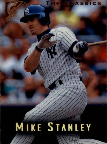 Photo of 1996 Topps Gallery #82 Mike Stanley