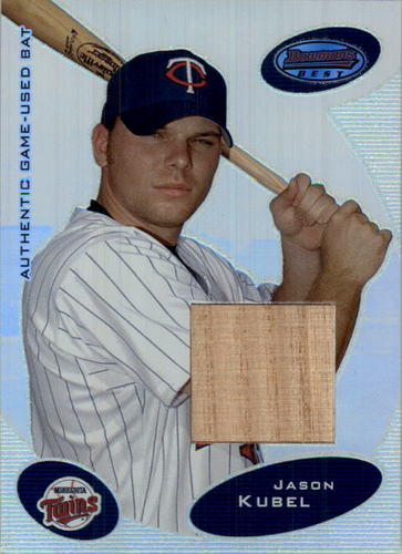 Photo of 2003 Bowman's Best #JKB Jason Kubel FY Bat