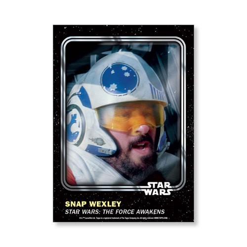Snap Wexley 2016 Star Wars Card Trader Base Poster - # to 99
