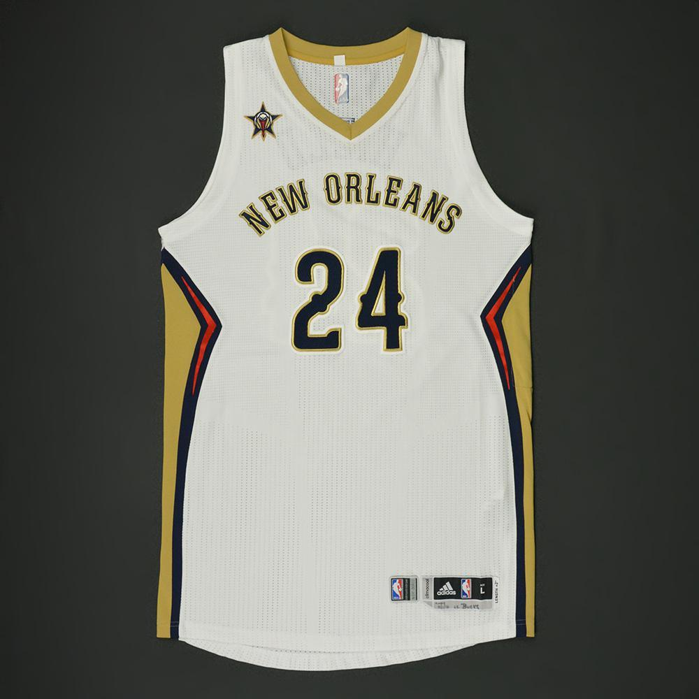 6cbd5c45e203 Buddy Hield - New Orleans Pelicans - Game-Worn Regular Season Jersey - 2016-