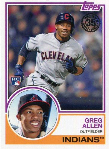 Photo of 2018 Topps '83 Rookies #8310 Greg Allen