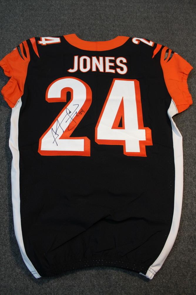 NFL Auction | Crucial Catch - Bengals Adam Pacman Jones signed and ...