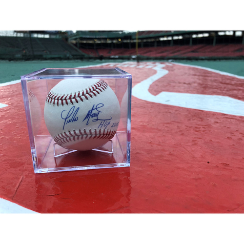 "Photo of Red Sox Foundation - Pedro Martinez Autographed Baseball ""HOF 2015"" - Not MLB Authenticated"