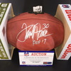 HOF - Broncos Terrell Davis Signed Authentic Football