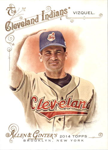 Photo of 2014 Topps Allen and Ginter #67 Omar Vizquel