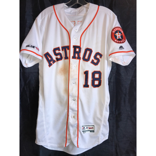 Photo of 2019 Tony Kemp Game-Used Home Jersey