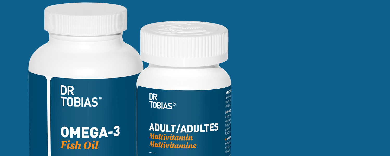 Omega 3 Fish Oil and Adult Multivitamin