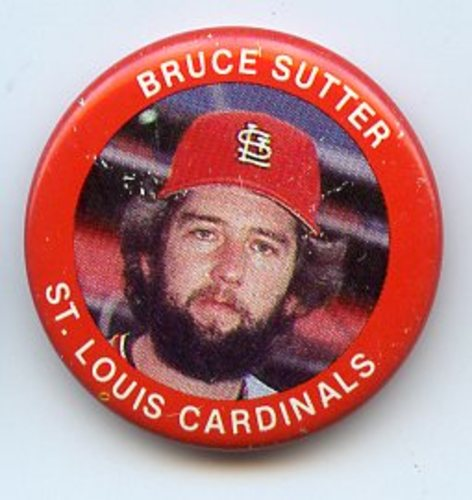 Photo of 1984 Fun Foods Pins #14 Bruce Sutter