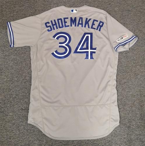 Photo of Authenticated Team Issued Jersey: #34 Matt Shoemaker (2019 Season). Size 48