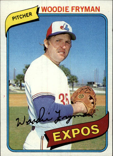 Photo of 1980 Topps #607 Woodie Fryman
