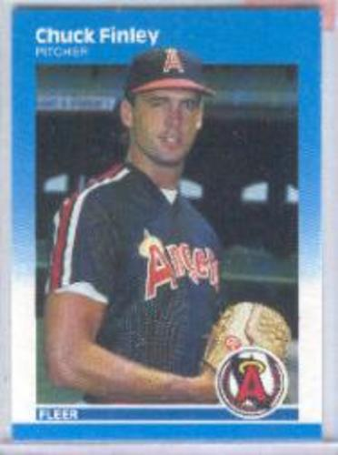 Photo of 1987 Fleer #79 Chuck Finley RC