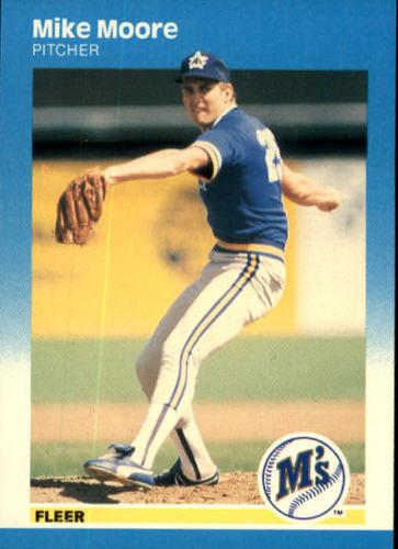 Photo of 1987 Fleer #590 Mike Moore