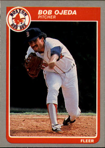 Photo of 1985 Fleer #166 Bob Ojeda