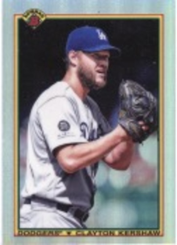 Photo of 2020 Bowman Chrome '90 Bowman #90BCK Clayton Kershaw