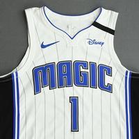 Jonathan Isaac - Orlando Magic - Game-Worn Association Edition Jersey - 2019-20 NBA Season Restart