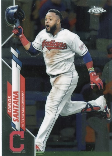 Photo of 2020 Topps Chrome #165 Carlos Santana