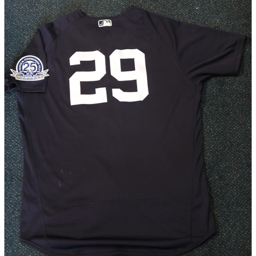 Photo of 2020 Game-Used Spring Training Jersey - Gio Urshela #29 - Size 48