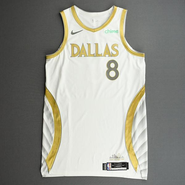 Image of Josh Green - Dallas Mavericks - Game-Worn - City Edition Jersey - 2020-21 NBA Season