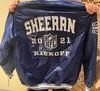Kickoff 2021 - Ed Sheeran signed custom NFL Starter Jacket