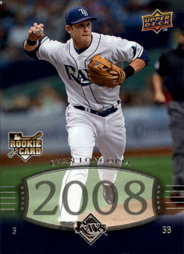 Photo of 2008 Upper Deck Timeline #303 Evan Longoria 04 TT RC