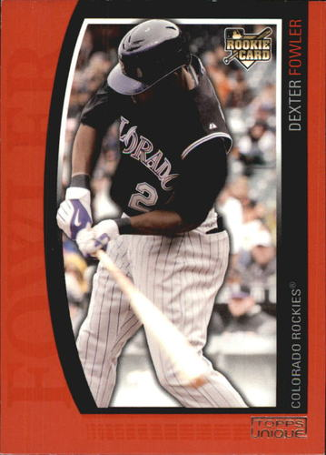 Photo of 2009 Topps Unique Red #159 Dexter Fowler