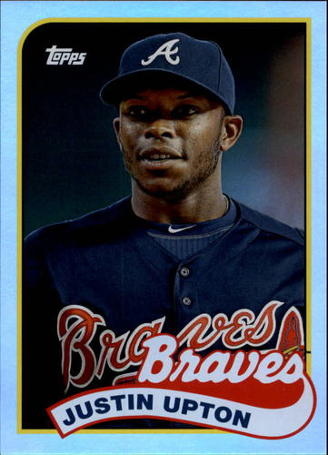 Photo of 2014 Topps Archives Silver #191 Justin Upton