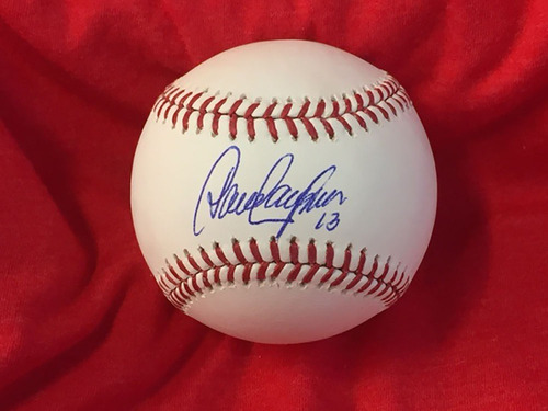 David Concepcion Autographed Baseball