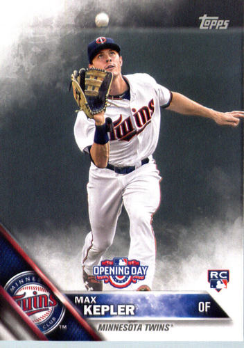Photo of 2016 Topps Opening Day #OD43 Max Kepler RC Rookie Card