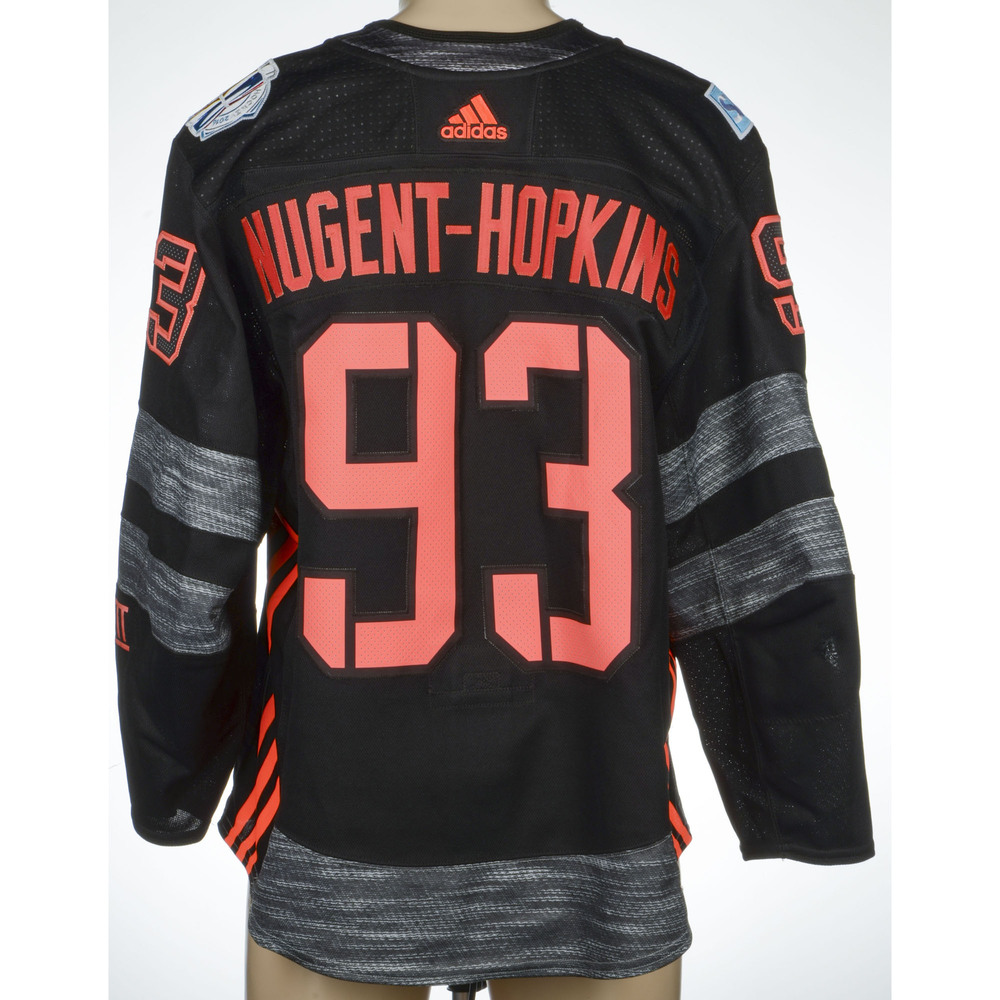 Ryan Nugent-Hopkins Edmonton Oilers Game-Worn 2016 World Cup of Hockey Team North America Jersey, Assist Against Team Russia On September 19th