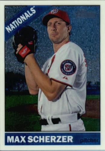 Photo of 2015 Topps Heritage Chrome #THC708 Max Scherzer