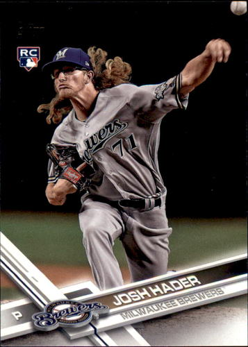 Photo of 2017 Topps Update #US209 Josh Hader Rookie Card