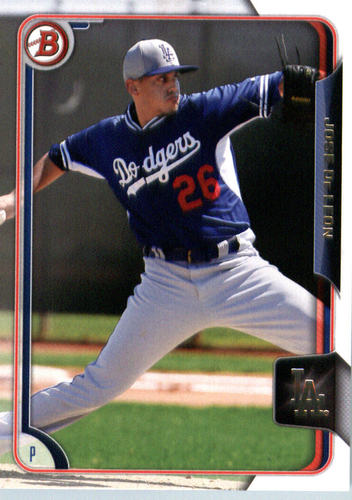 Photo of 2015 Bowman Draft #97 Jose De Leon