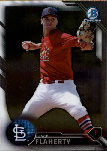 Photo of 2016 Bowman Chrome Prospects #BCP89 Jack Flaherty
