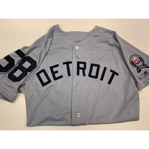 Photo of Game-Used 1968 50th Anniversary Jersey: Victor Alcantara