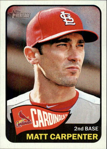 Photo of 2014 Topps Heritage #342 Matt Carpenter