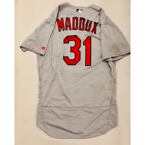 Photo of 2019 Mexico Series Game Used Jersey - Mike Maddux Size 46 (St. Louis Cardinals)