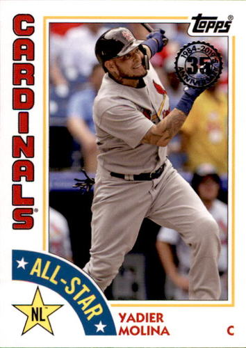 Photo of 2019 Topps '84 Topps All Stars #84ASYM Yadier Molina