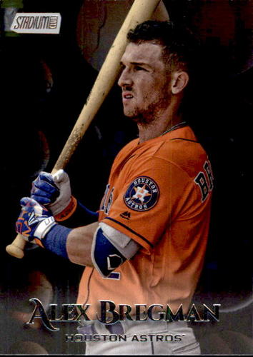Photo of 2019 Stadium Club #44 Alex Bregman
